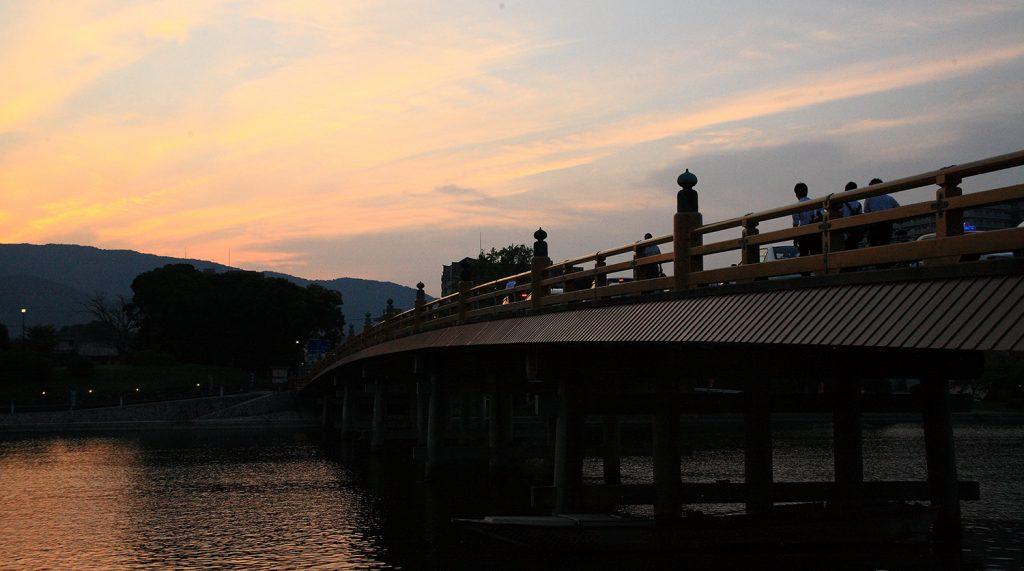 近江八景の旅  瀬田夕照