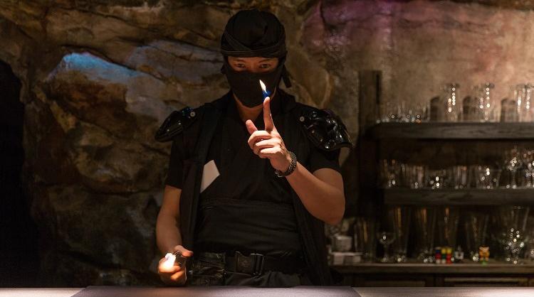 一夜限りの甲賀流忍者レストラン(甲賀の食と酒と忍術と)のご案内