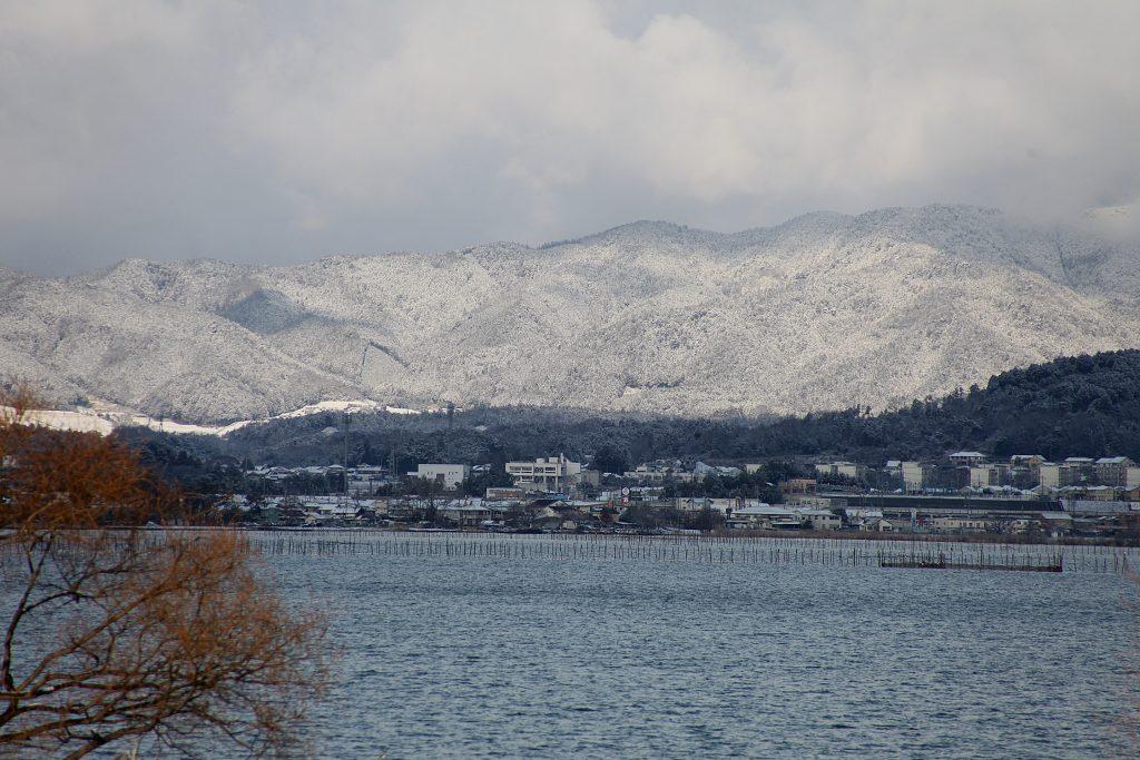 近江八景の旅 比良暮雪