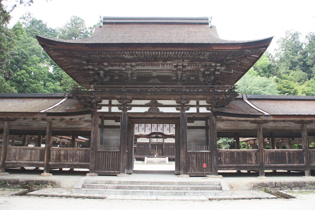 忍びの里 甲賀 日本遺産の文化財群 油日神社の文化財群