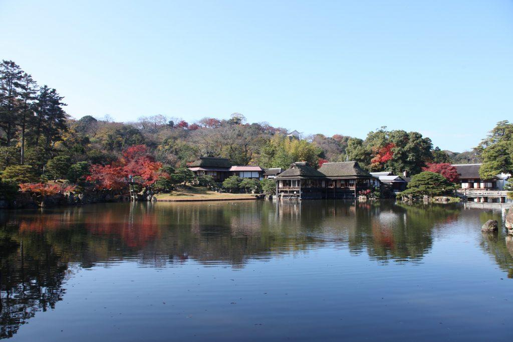 日本遺産・琵琶湖 祈りと暮らしの水遺産 玄宮楽々園