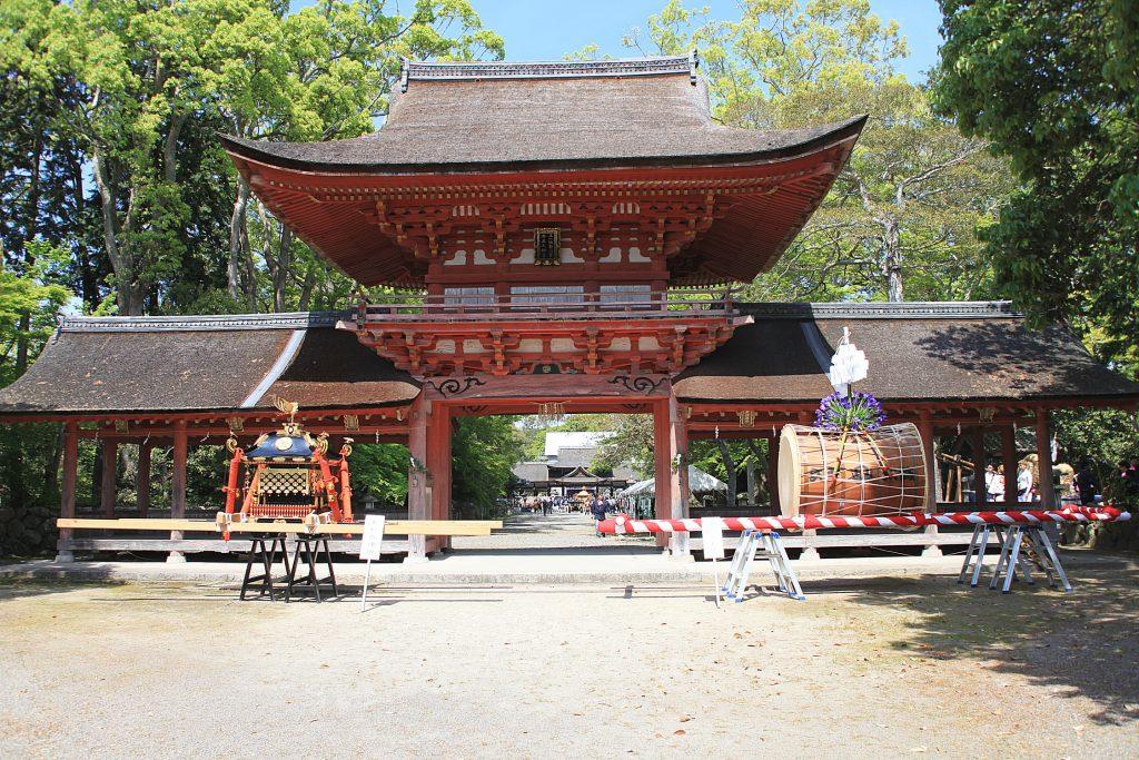 日本遺産・琵琶湖 祈りと暮らしの水遺産 兵主大社と八ケ崎神事