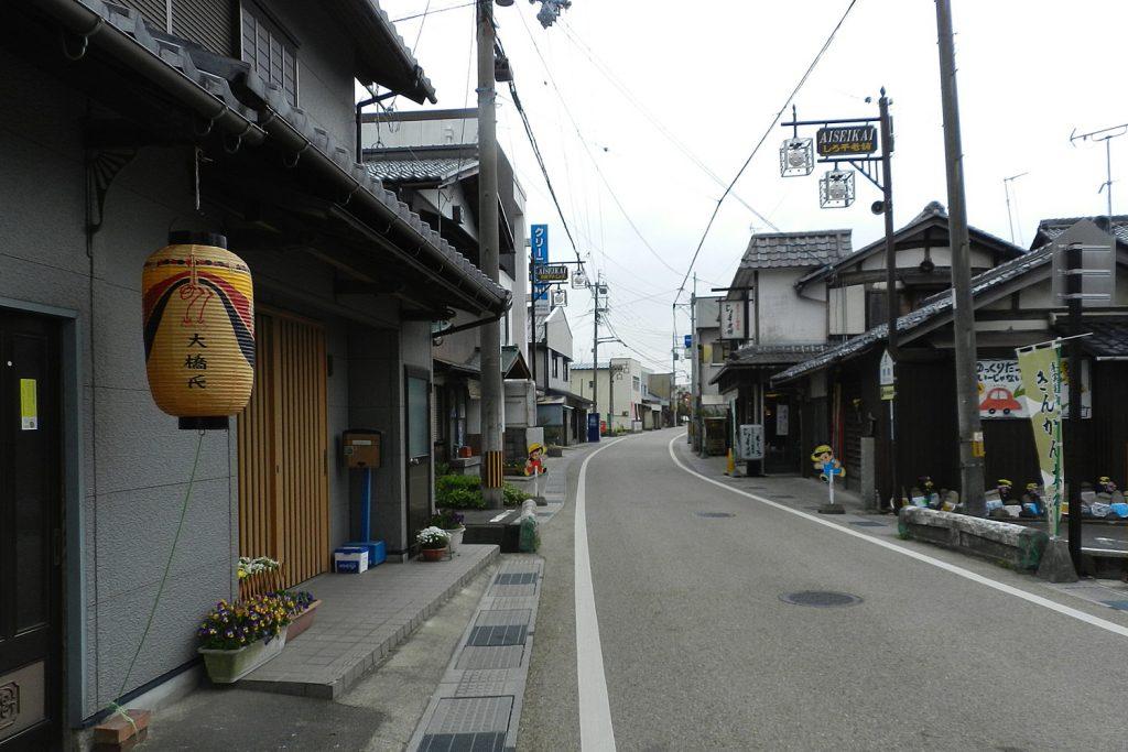 近江歴史回廊の旅 中山道~柏原宿から草津宿を訪ねて~ 愛知川宿
