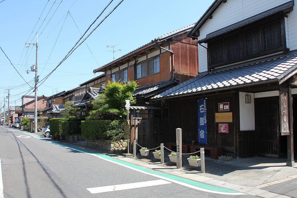 近江歴史回廊の旅 東海道~土山宿から大津宿を訪ねて~ 石部宿